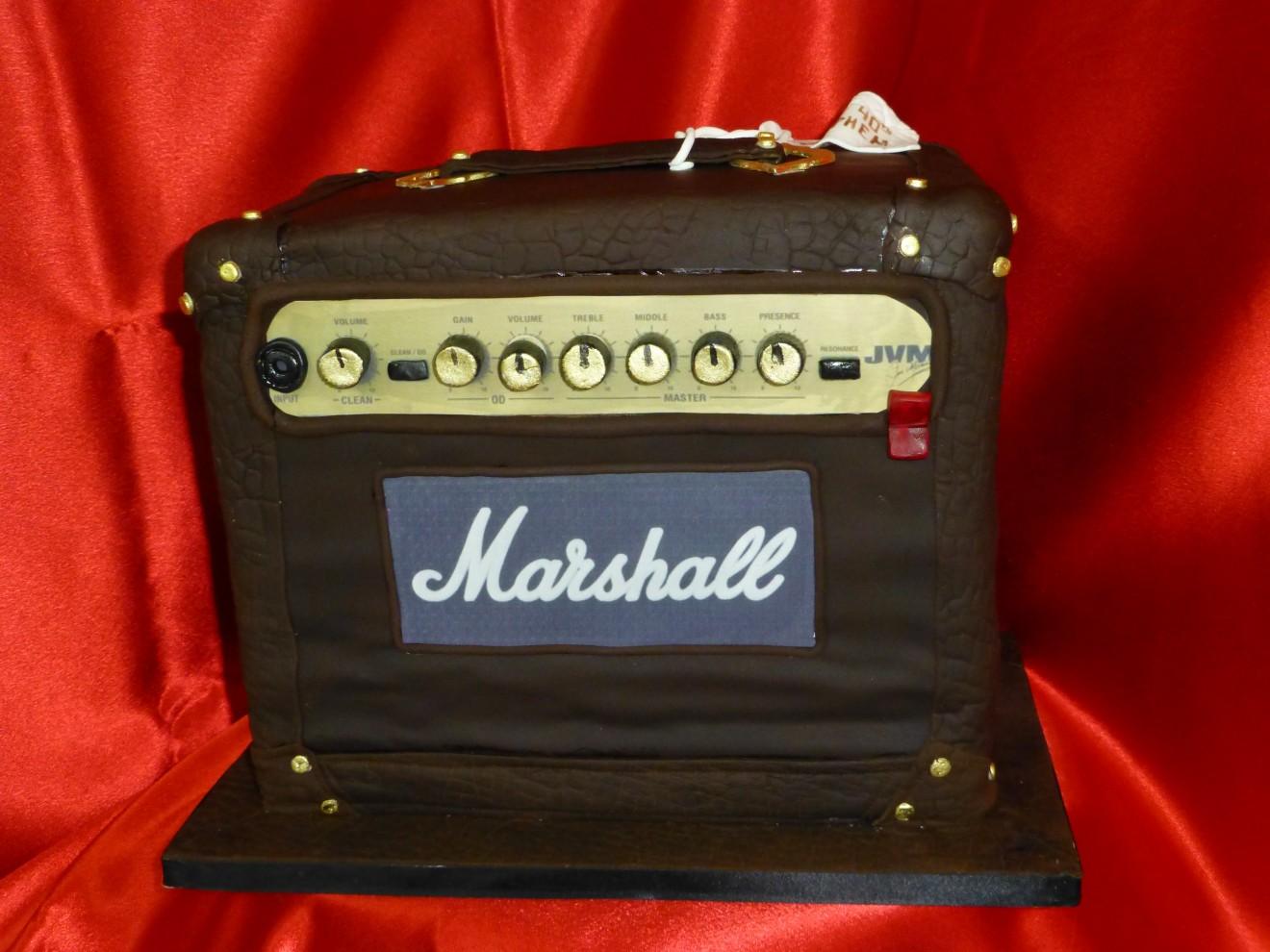 Amplifier Musician Cake