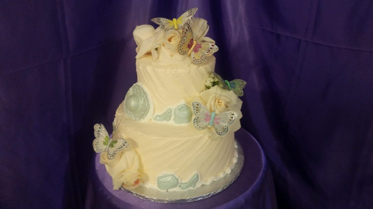 Butterflies and Roses Cake | Cakes On The Move