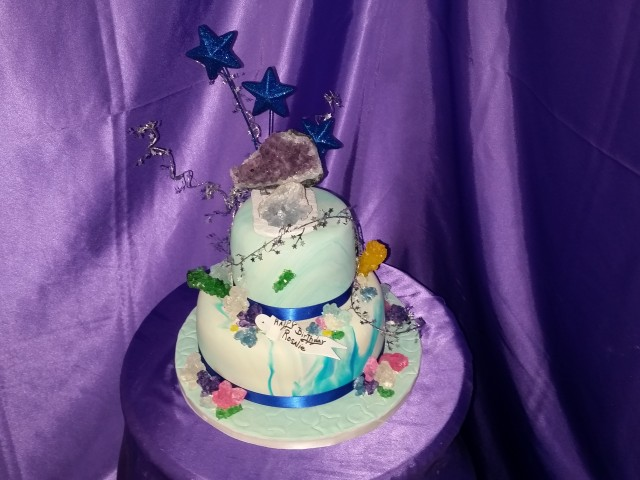 Crystal Birthday Cake