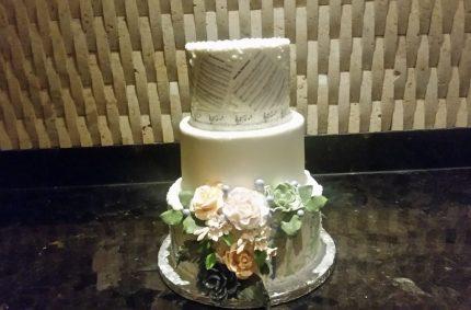 Custom Succulent Cake