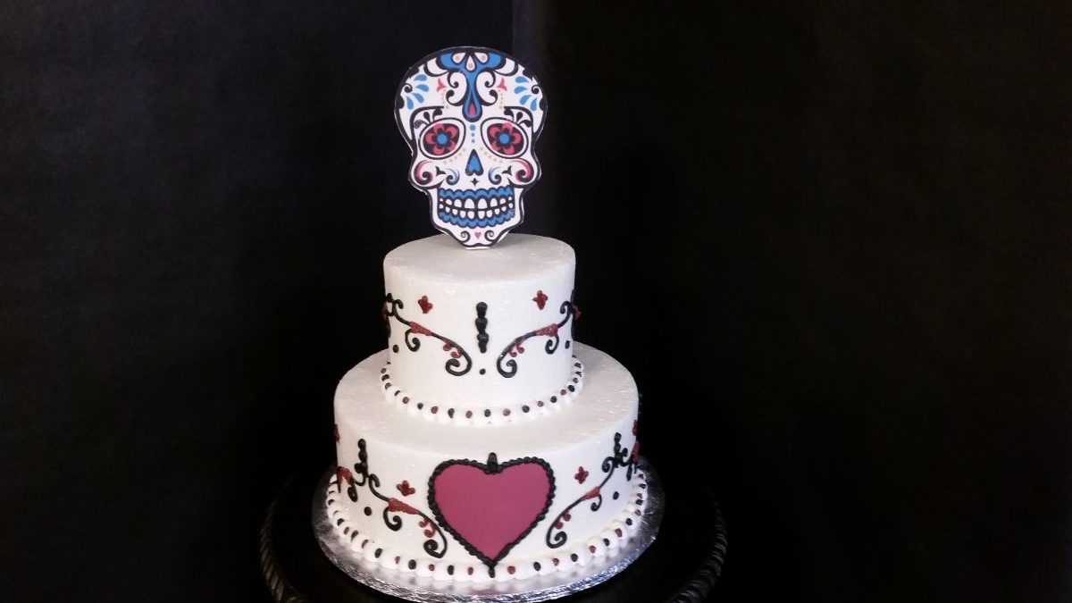 Day Of The Dead Celebration Cakes On The Move