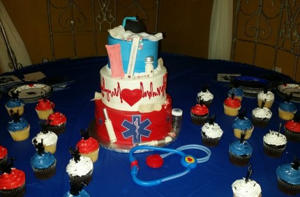 EMT Graduation Cake