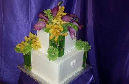Hawaiian Bamboo Cakes