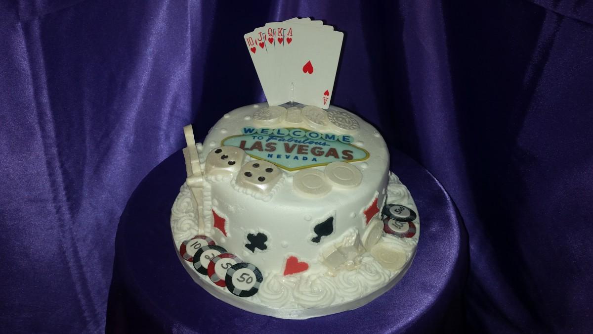 Las Vegas Gamblers Cake