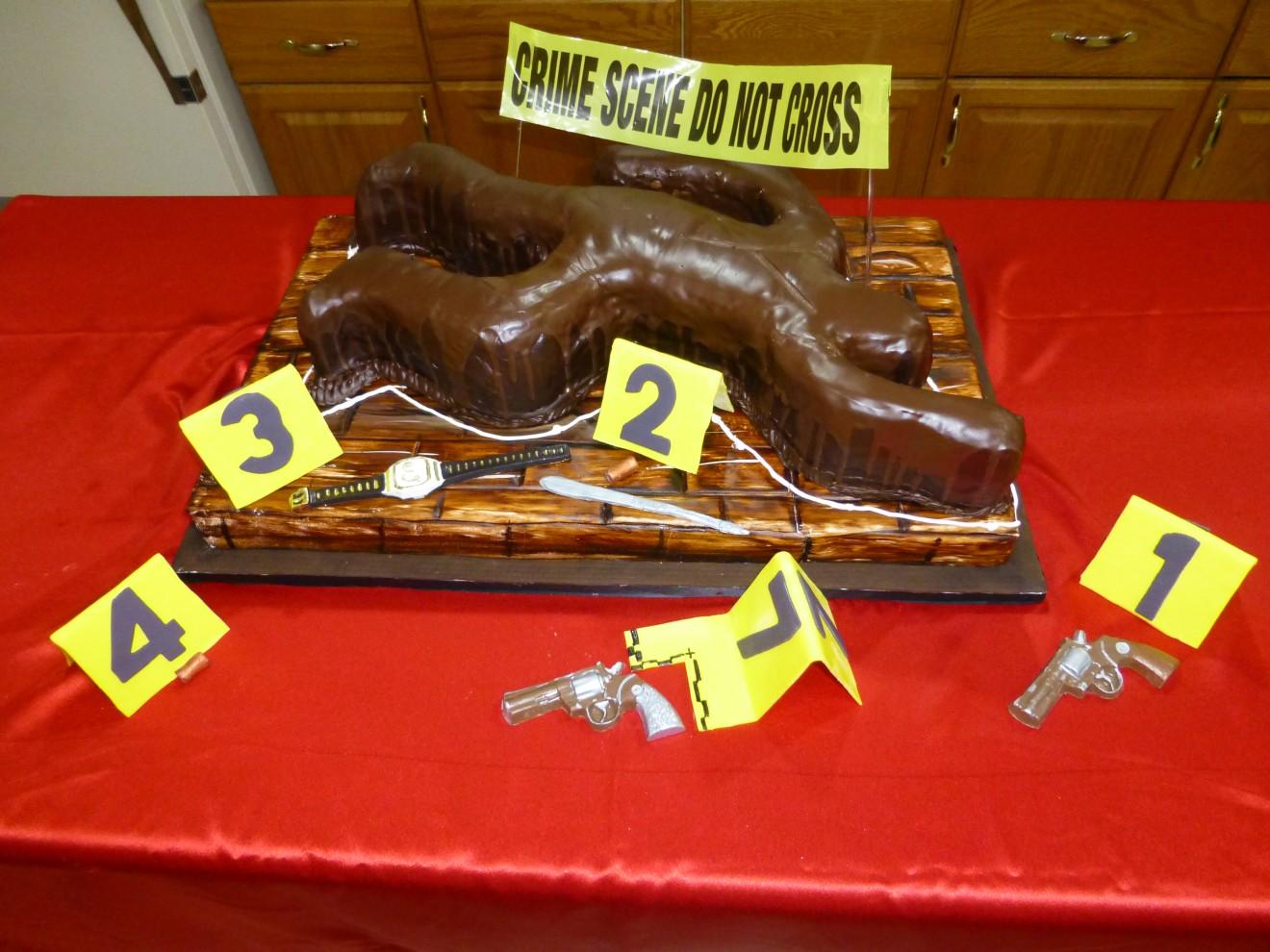 NCIS Specialty Cake