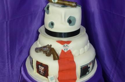 Scarface Cake
