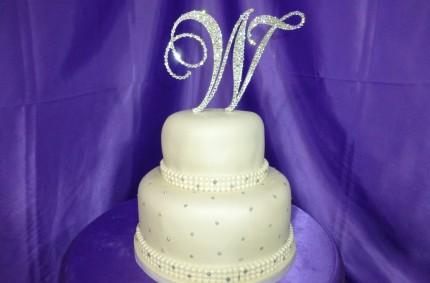 Silver Bling Cake