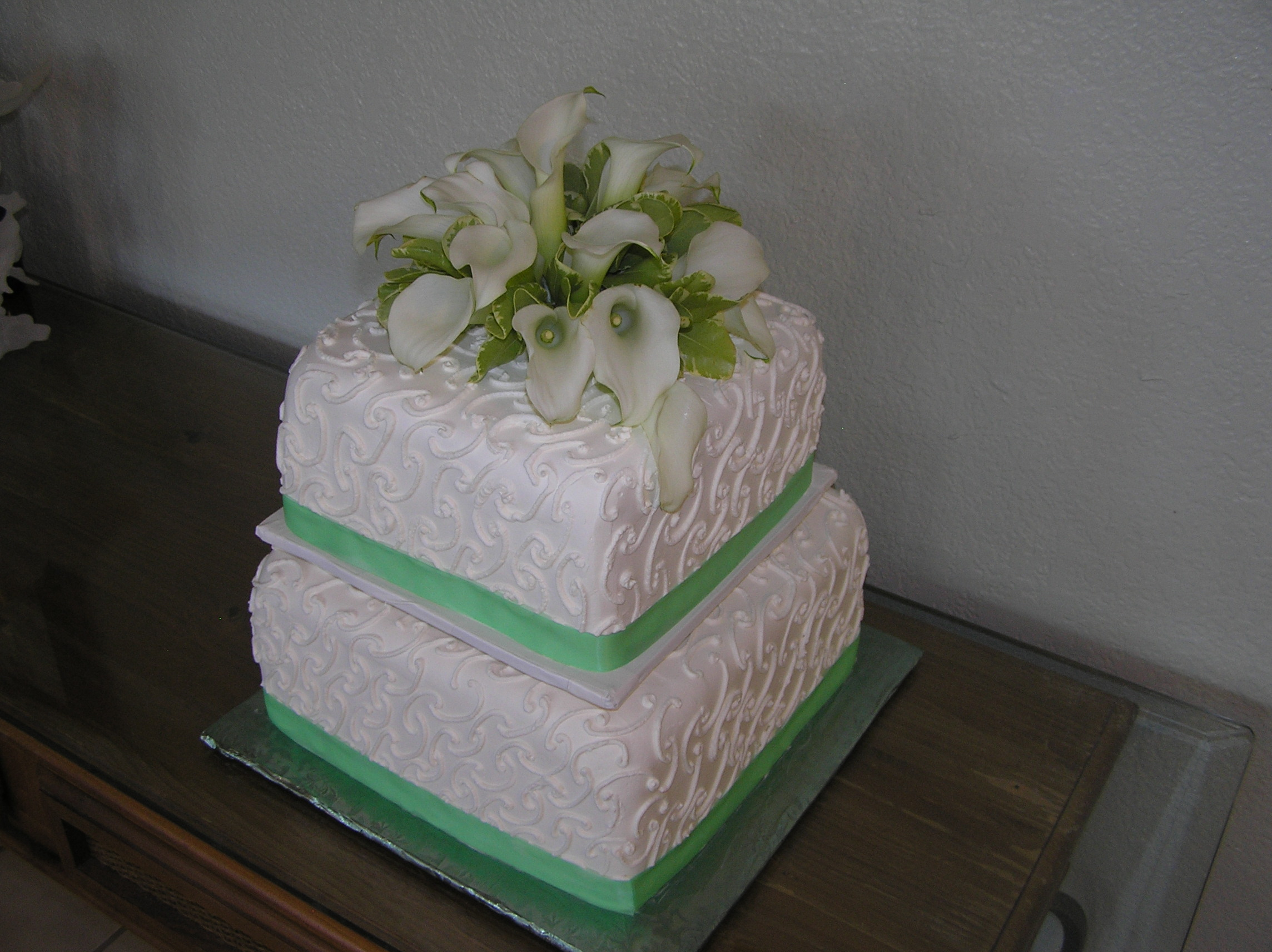 Simply Squared Cake
