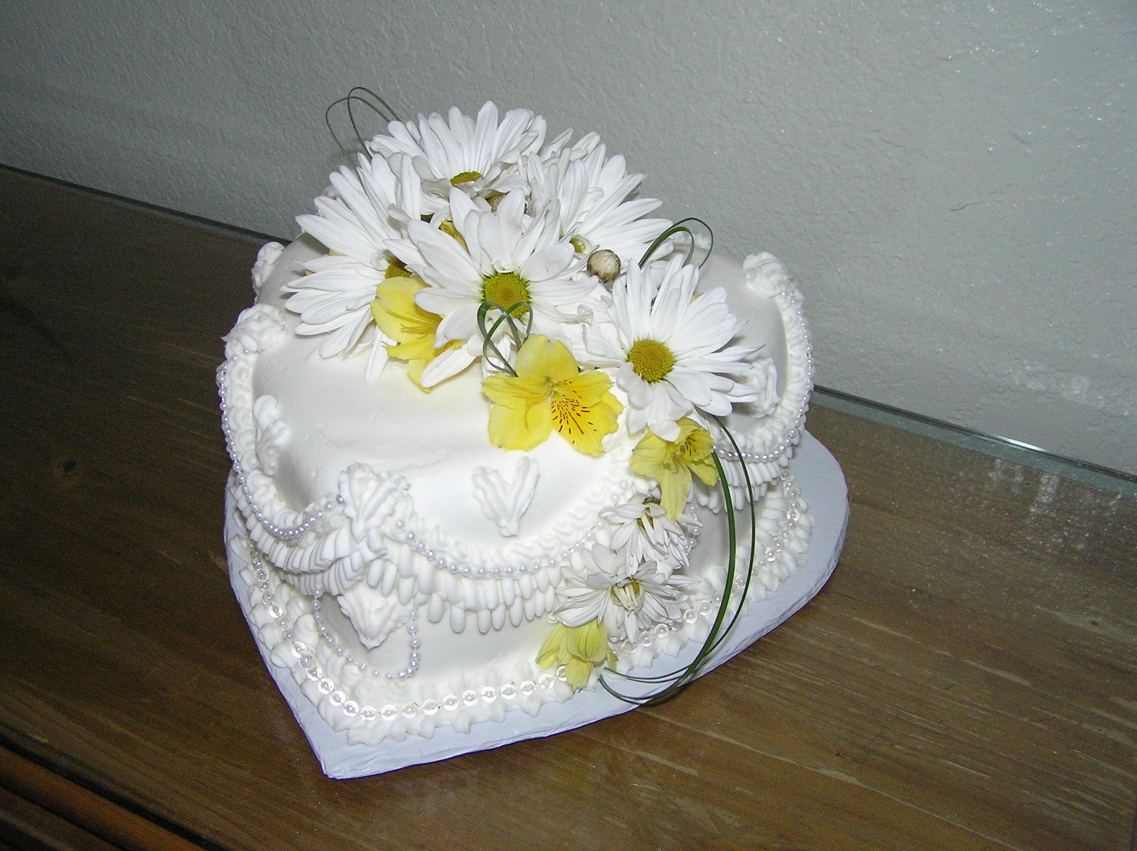 Spring Heart Cake