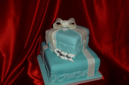Tiffany Cake Boxes