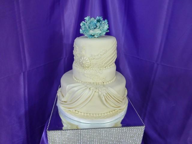 Blue Peony Wedding
