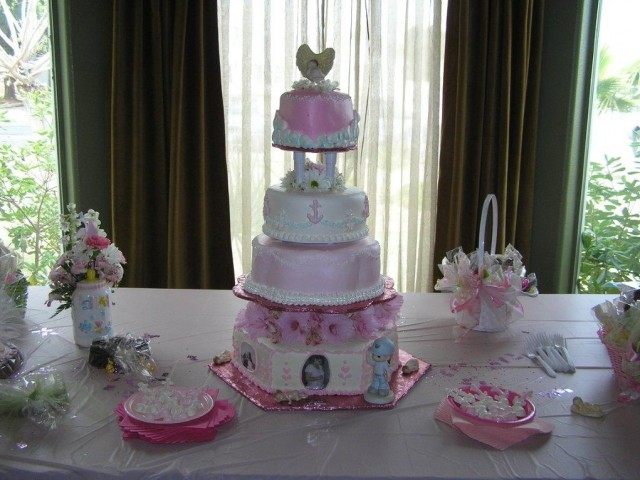 Mother and Baby Shower Cake