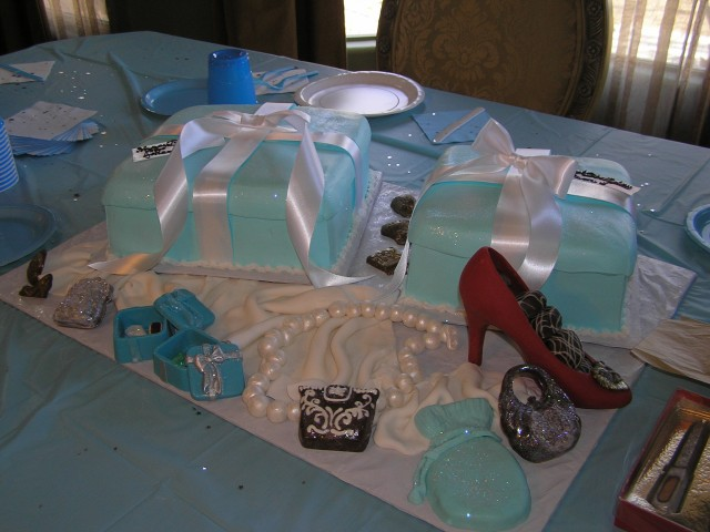 Tiffany Chocolate Boxes