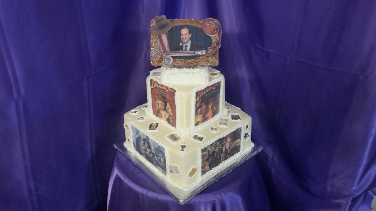Admirable Indiana Jones Birthday Cake Cakes On The Move Funny Birthday Cards Online Inifodamsfinfo
