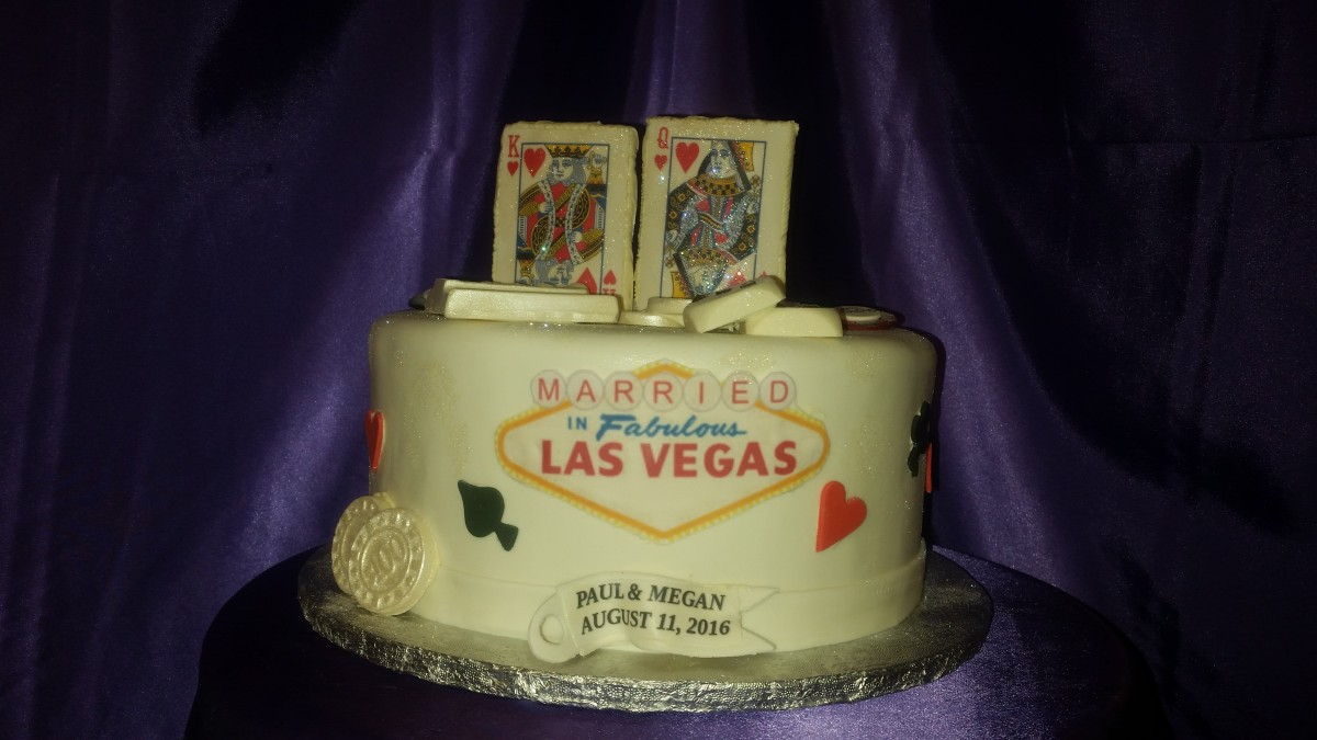 Tremendous Las Vegas Cakes Cakes On The Move Birthday Cards Printable Inklcafe Filternl
