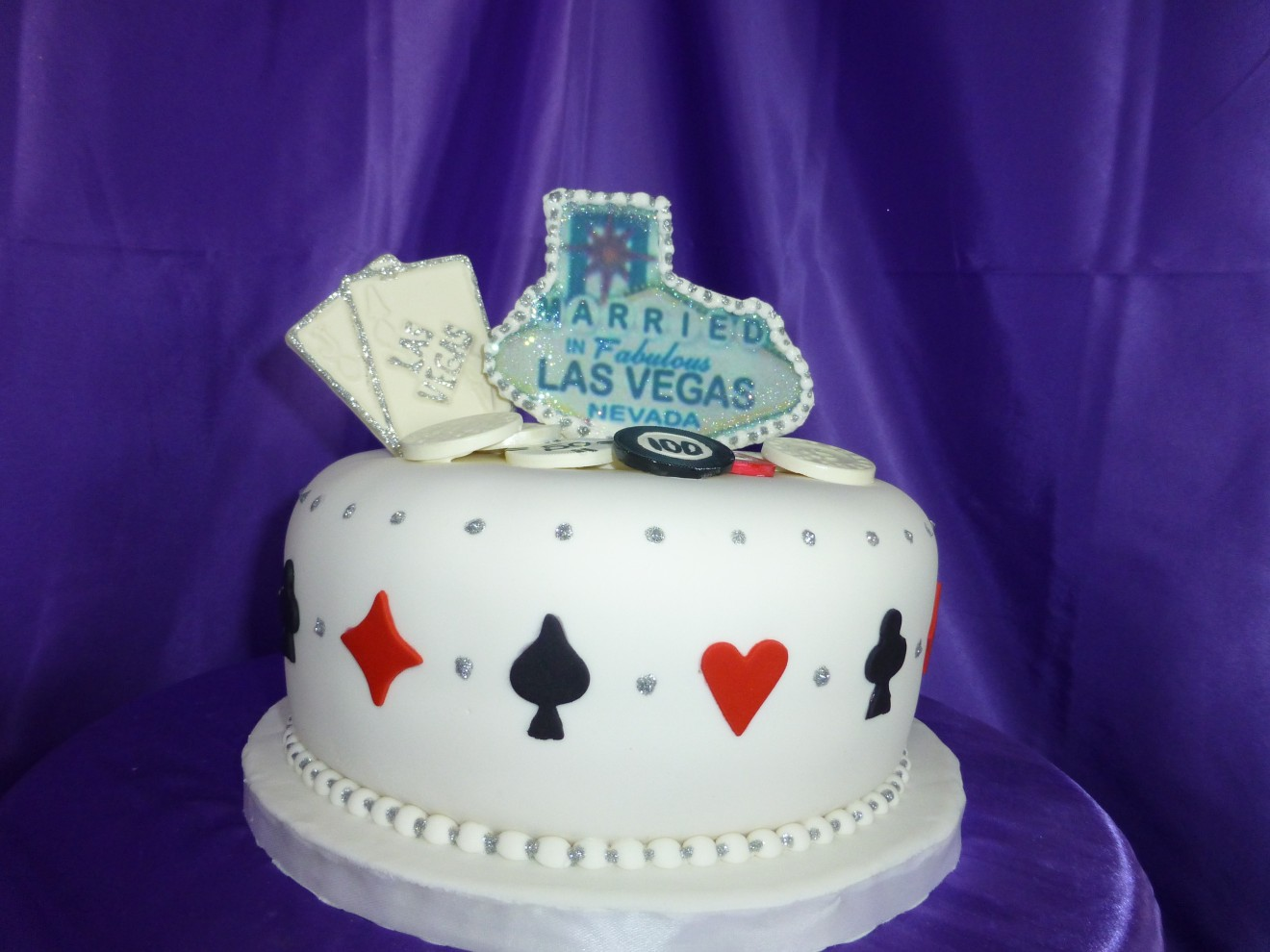 Las Vegas Wedding Cake